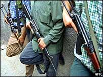 Palestinian gunmen (archive)