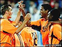 The Dutch celebrate