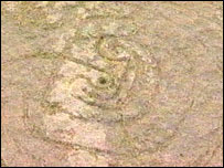 Gorleston Stone markings