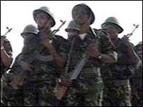 Polisario soldiers