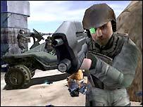 Screenshot from Halo