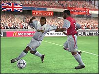 Screenshot from Fifa 2003