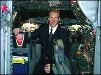 Concorde cabin crew member Neil Smith