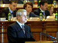 Prime Minister Adrian Nastase
