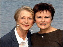 Helen Mirren and Julie Walters