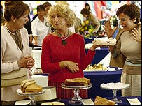 Scene from Calendar Girls