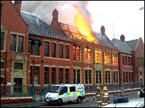 The fire at Devonshire Junior School