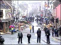 Omagh bomb aftermath