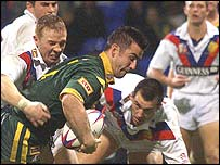 GB v Aus 2001 Test series