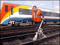 Removing problems caused by leaves on the line