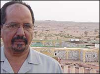 Polisario Secretary General Mohamed Abdelaziz