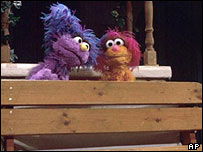 Muppets from the Israeli/Palestinian Sesame Street