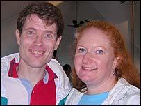 Mentors John and Donna Perkett