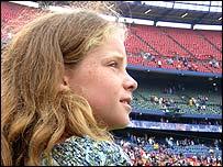 Cherilyn Curia at Shea Stadium