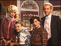The cast of Acorn Antiques