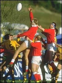 Wales v Australia 1987