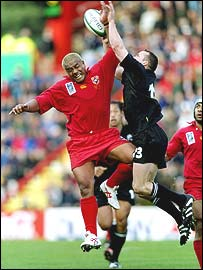 Tonga v New Zealand 1999