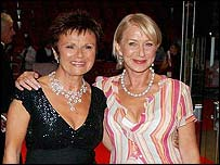 Julie Walters and Helen Mirren