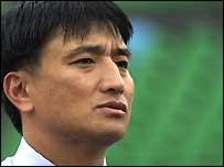 Japan coach Shogo Mukai