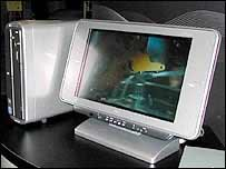 SoundVu technology built into computers by Japanese electronics giant NEC