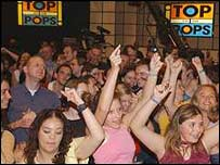 Top of the Pops crowd