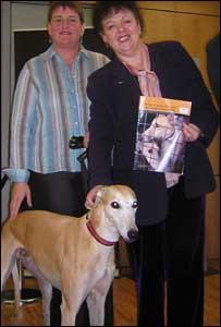 Karen Thomas, Lorraine Barrett and Eddy
