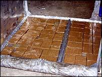 Cocaine slabs