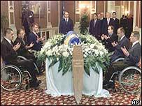 Tribute to former President Alija Izetbegovic