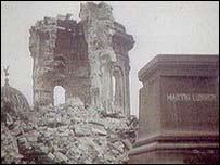 Dresden wreckage