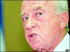 Yitzhak Rabin in 1992