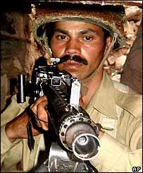 Pakistani soldier
