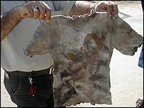 Mirvat Kawwaz's shirt