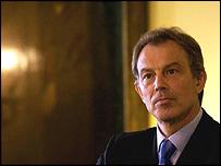 Mr Blair said election would go ahead on 26 November