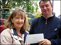 Barbara and Martin Curry