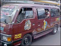 Matatu vehicle in Nairobi