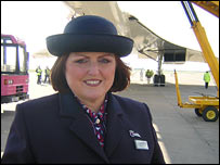 Concorde in Cardiff
