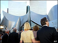 Guests gather for gala event at Walt Disney Concert Hall