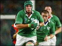 Alan Quinlan has been picked because of his power and aggression