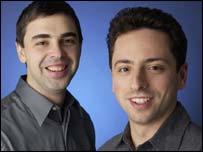 Larry Page y Sergey Brin, los creadores de Google