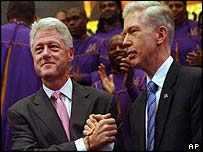 Clinton and Davis