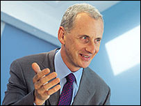 Kent Reliance chief executive Mike Lazenby