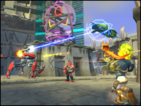 Screen shot of Jak II