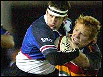 Gareth Wyatt takes on Jason Forster