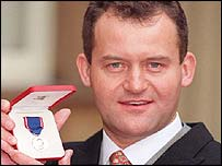 Burrell received the Royal Victorian Medal