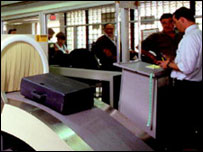 Airport scurity scanner