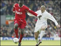 Heskey takes on Milner