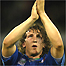 Mauro Bergamasco applauds the crowd after defeat to Wales in Italy's last World Cup game