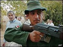 US Deputy Defence Secretary Paul Wolfowitz (left) was in Tikrit hours earlier