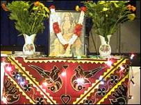 The goddess Laxmi