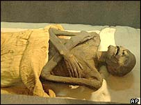 Mummy thought to be Ramses I